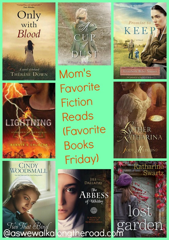 Favorite fiction books for moms to read