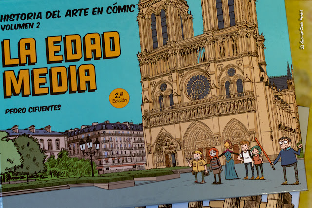 HIstoria del Arte en Cómic, la Edad Media por El Guisante Verde Project