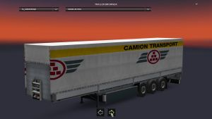 Schmitz Camion Transport Trailer