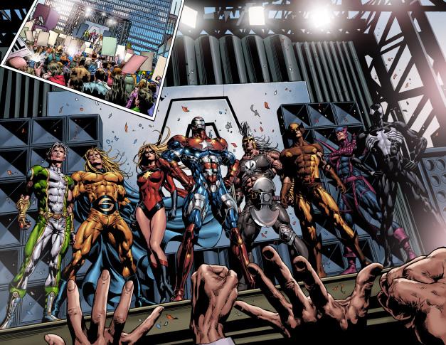 Chính phủ đã chỉ định việc tái phát triển của nhóm cho Norman Osborn (nhà  cải cách được cải tổ giờ gọi mình là Iron Patriot) mà chính phủ trước đây  đã ...