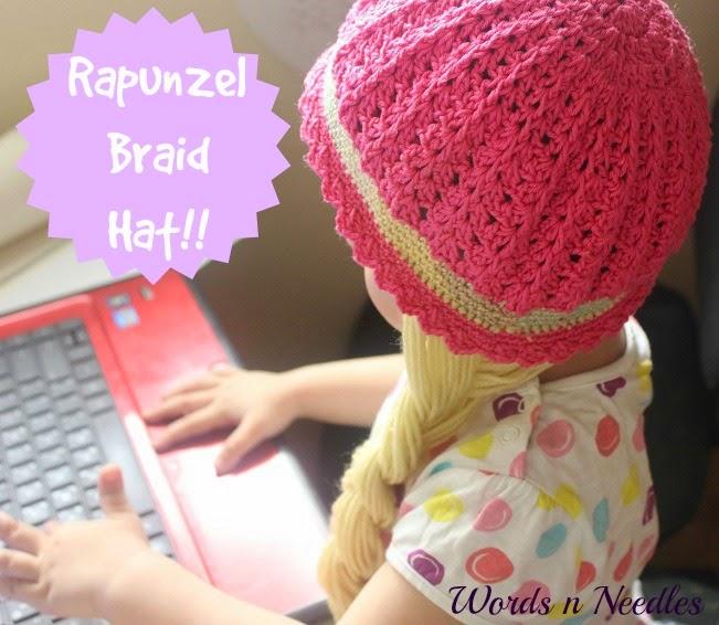 braided rapunzel hat
