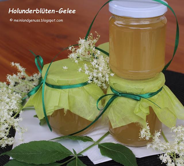 Holunderblüten-Gelee