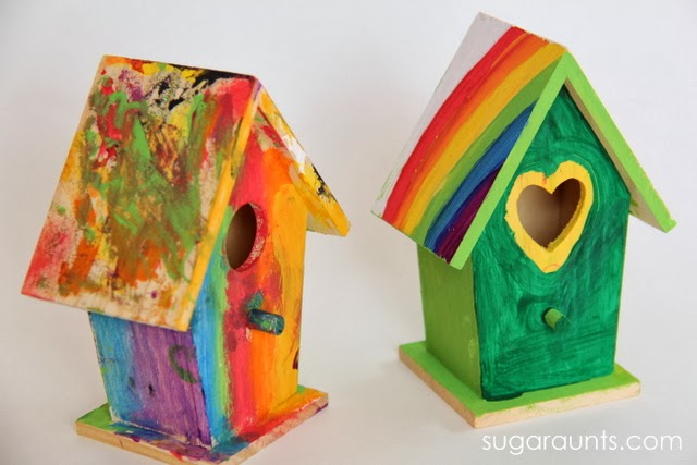 This St. Patrick's Day craft for kids is perfect for leprchaun small world play.