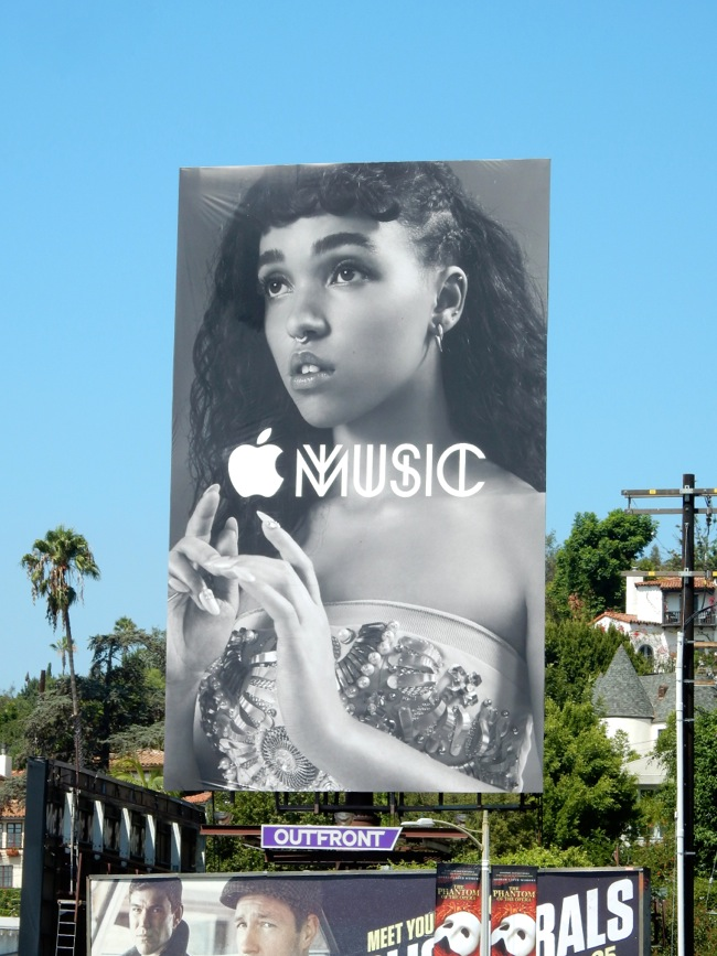 8cf989c85 Daily Billboard  Apple Music launch billboards... Advertising for ...