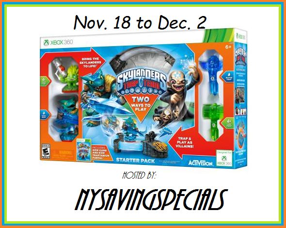 Enter the Skylanders Trap Team Starter Pack for Xbox 360 Giveaway. Ends 12/2.