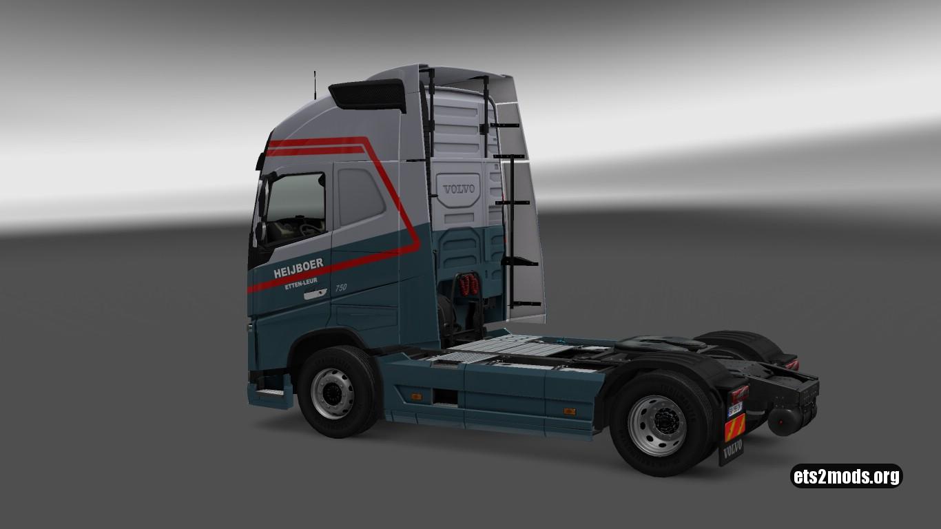 Heijboer Skin for Volvo 2012