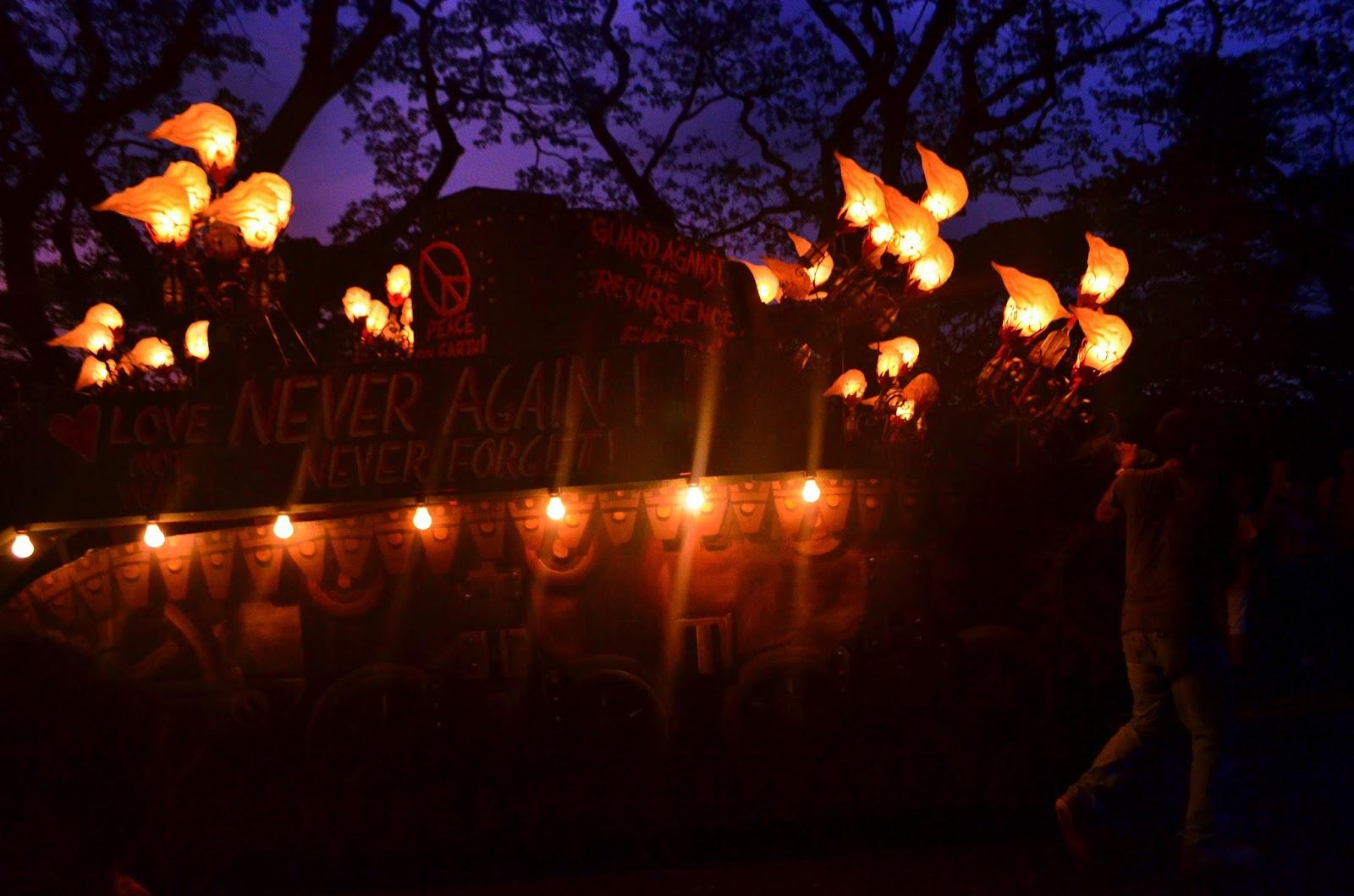 STAND UP lantern parade 2015