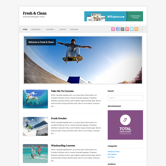 Mnimal WordPress Theme