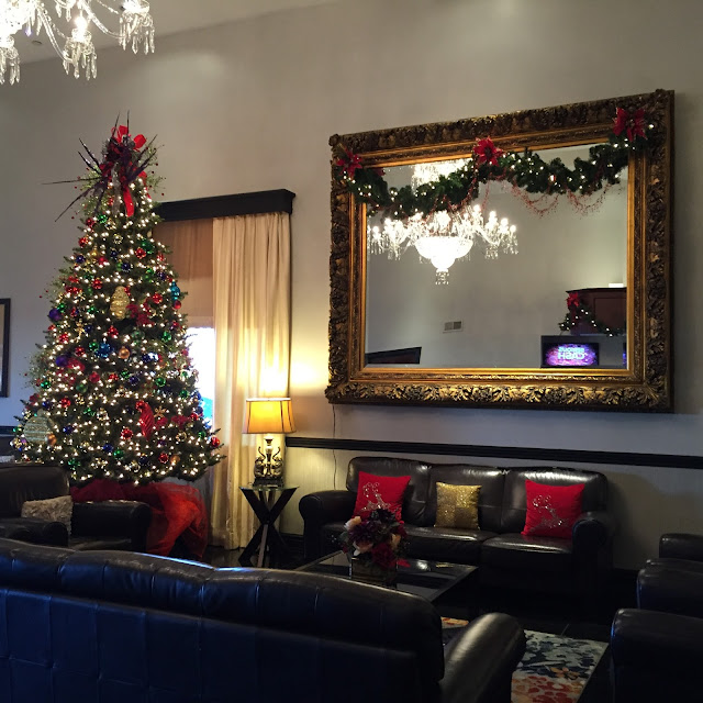 Impressive Christmas decor at Radisson Rockford, Illinois