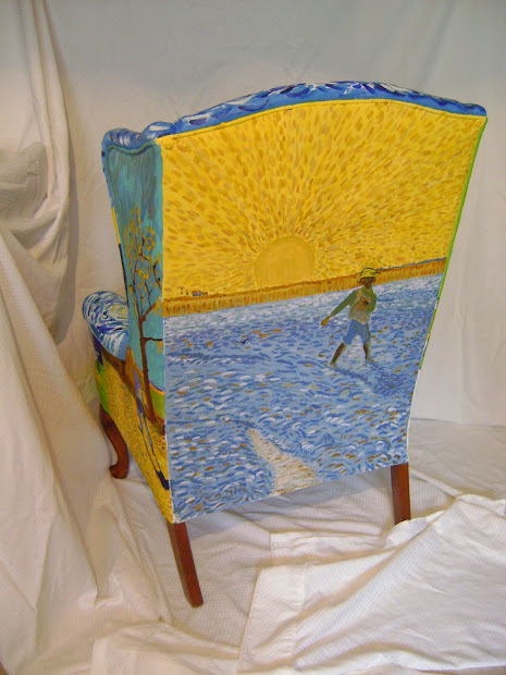 Art And Life Silent Auction Chair Panel