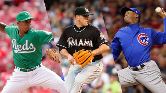 Todas las estadísticas de pitcheo y quienes fueron los lanzadores de mayor acumulado entre los cubanos en las Grandes ligas este 2016