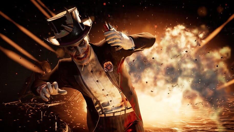 Joker, Explosion, MK11, 4K, #7.1603