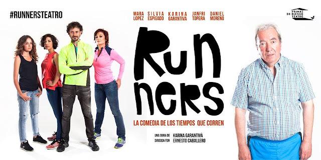 RUNNERS [TEATRO] La comedia de los tiempos que corren.