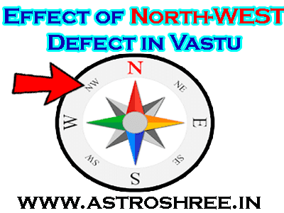 vastu tips for north-west direction