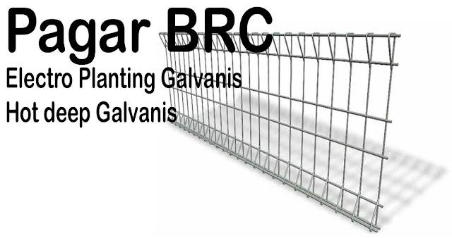 Pagar BRC Cocok Untuk Semua Jenis Bangunan