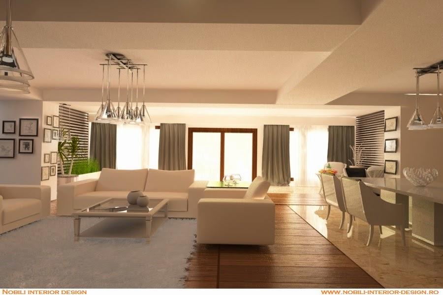 Design interior casa moderna Constanta - Mobila living Constanta| Mobila - living - Constanta.