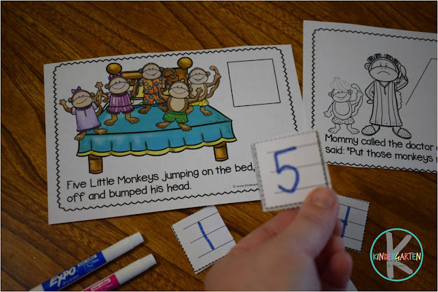 count to 5 and write numbers to 5
