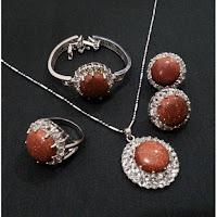 Jual Set Perhiasan Batu Pasirmas