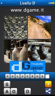 PACCHETTO 7 Soluzioni Trova la Parola - Foto Quiz con Immagini e Parole livello 9