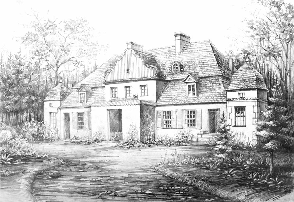 09-Country-Manor-Łukasz-Dębowski-aka-hipiz-Architecture-and-Interior-Design-Drawings-www-designstack-co
