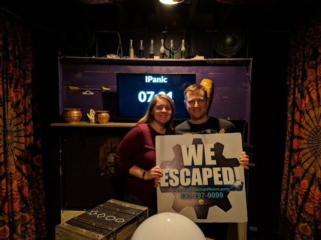 Perfect Winter Weekend at Pheasant Run Resort iPanic escape room