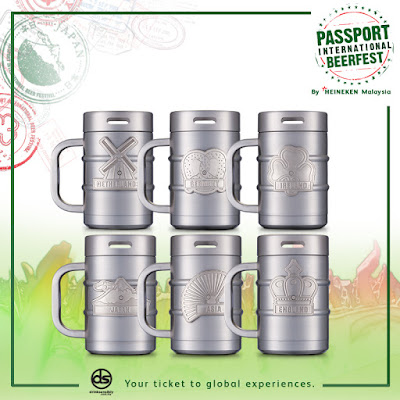 Passport International Beerfest mugs