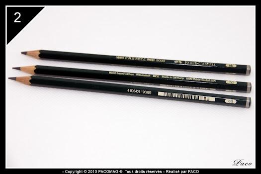 crayon de mines