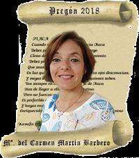 Pregonera Reyes Magos 2018