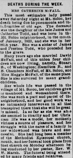 Staunton Spectator and Vindicator, Feb. 7, 1908
