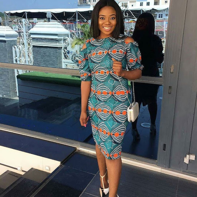 Top 50+ AMAZING ANKARA STYLES FOR THE FASHION GIRL: Short Gowns 2018