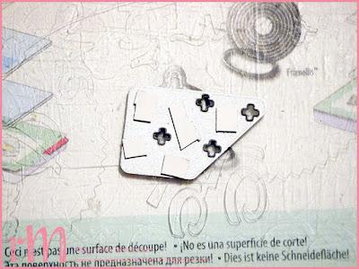 Stampin' Up! rosa Mädchen Kulmbach: Tipp zur Resteverwertung von Minipapierstücken mit Frame- und Thinlits