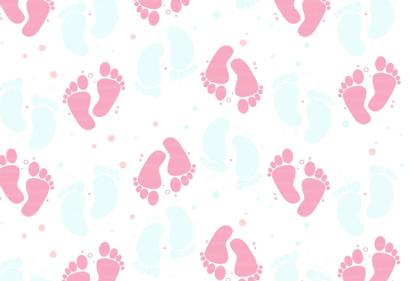 Baby Foot Stamp Wallpaper Hd Important Wallpapers