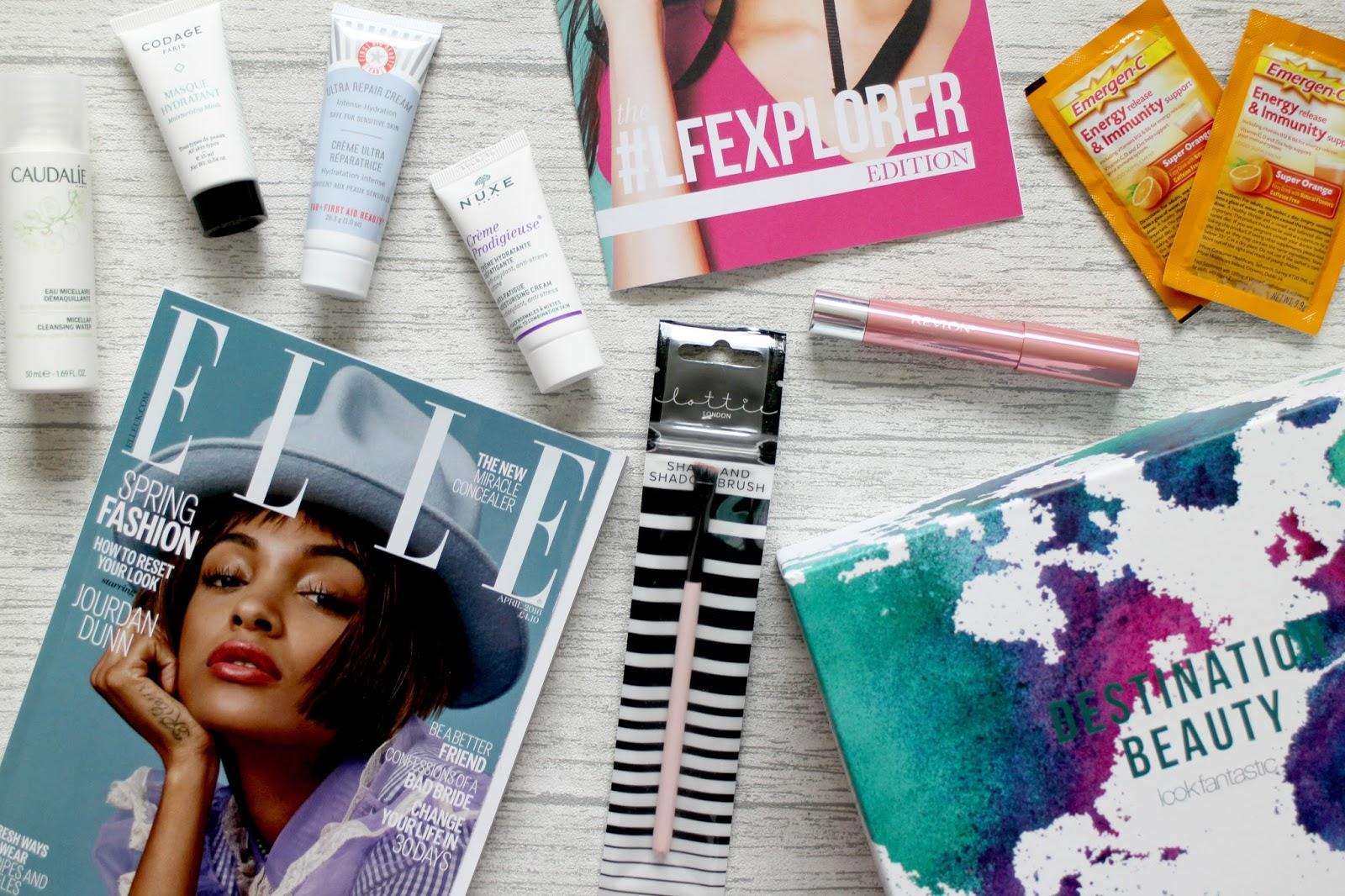Look Fantastic #LFExplorer Beauty Box