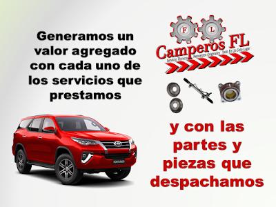 Camperos FL Repuestos Toyota