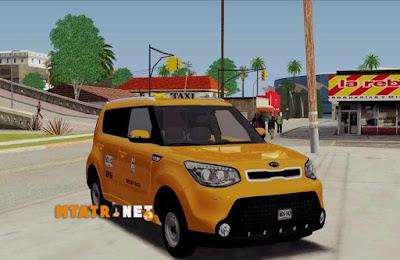 Kia Soul 2015 Taxi