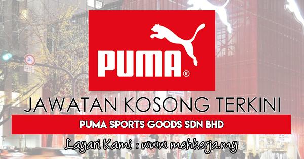 Jawatan Kosong Terkini 2018 di PUMA Sports Goods Sdn Bhd