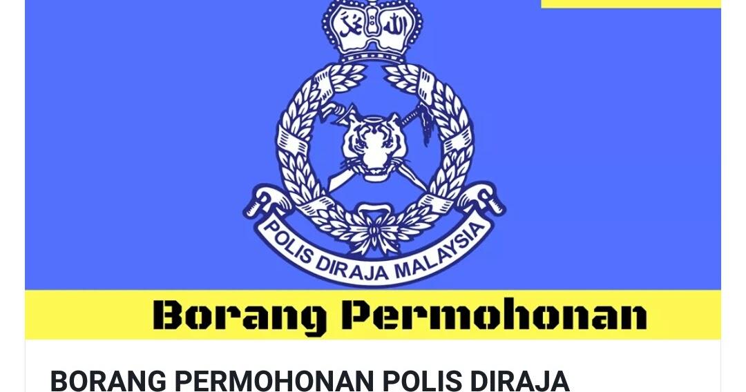 Info Terengganu Darul Iman Jawatan Kosong Kerajaan Polis Dirqja Malaysia Pdrm