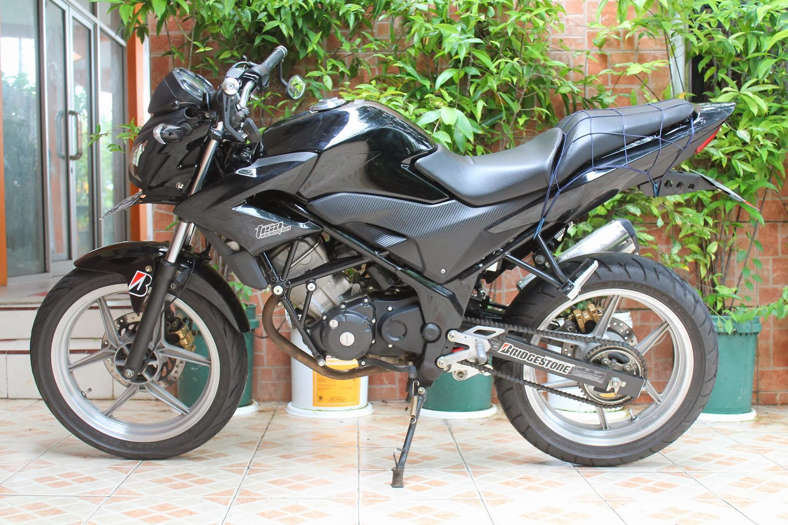 Modifikasi Motor Cb150r Warna Hitam Dop Modifikasi Motor