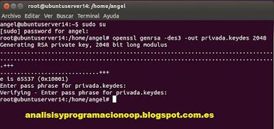 Crear un CSR en Ubuntu