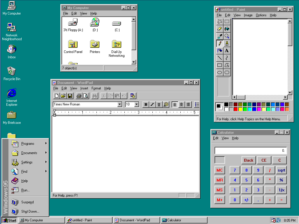 Windows 95 ISO for Boot Disk | Tips