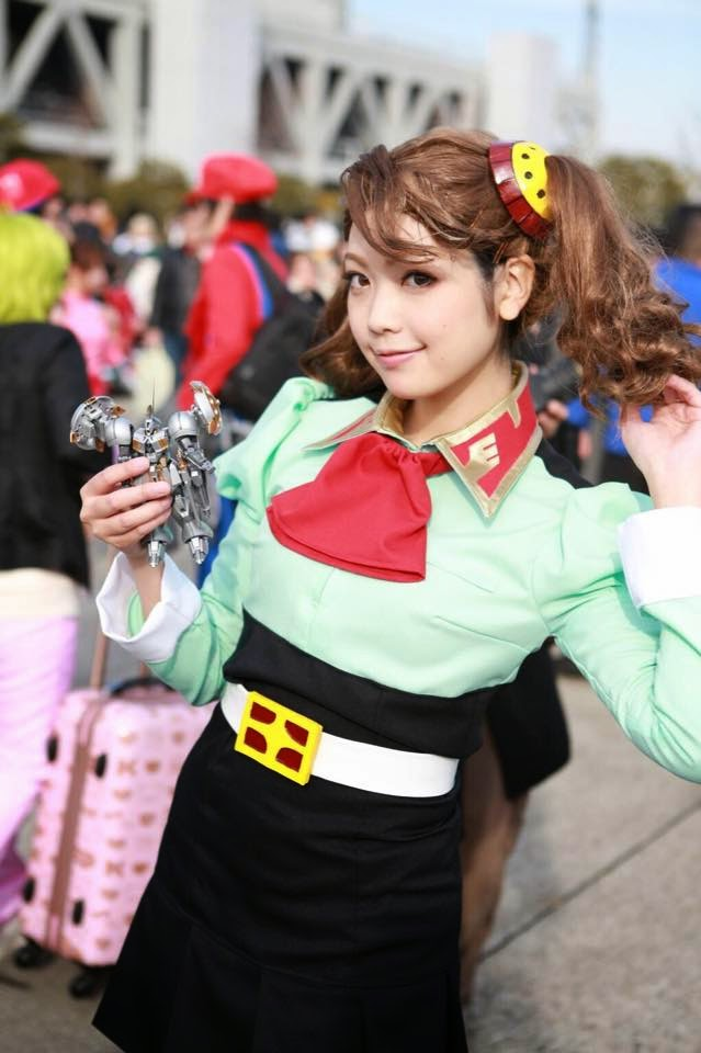 "Cosplay: Gyanko ""Kaoruko Sazaki"""