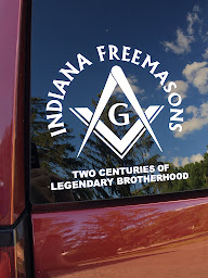 INDIANA FREEMASONS CAR DECAL NOW AVAILABLE