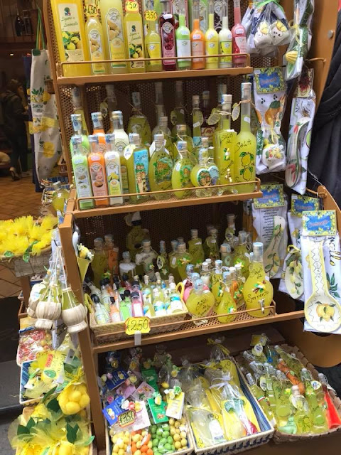 Limoncello in Sorrento