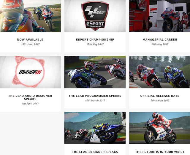Fitur Baru Game MotoGP 17 Semakin Nyata