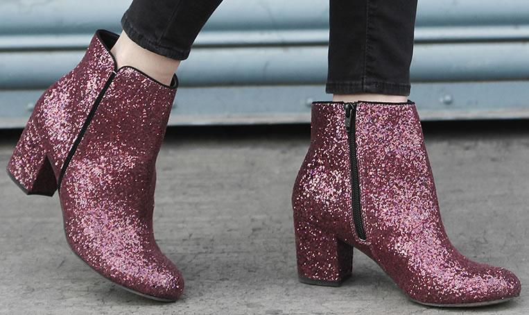 Tendência: Botas com Glitter
