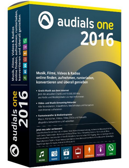 Audials One 2016 14.1.8400.0