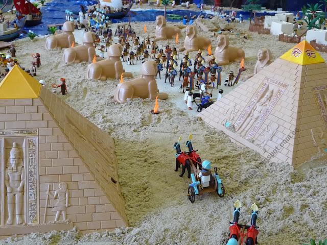 Diorama Playmobil Historia History Egipcios