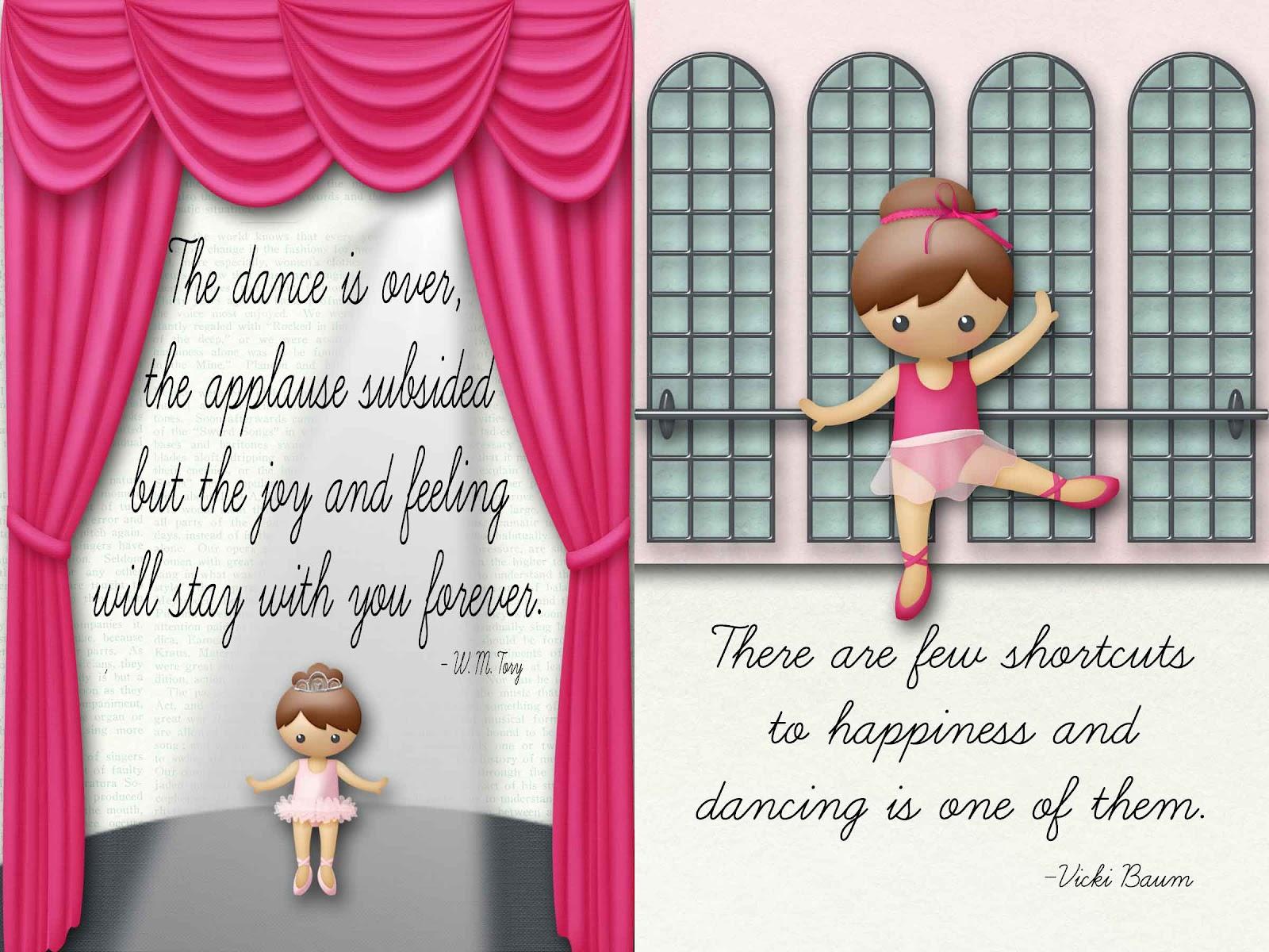 Dance Recital Ad Quotes QuotesGram
