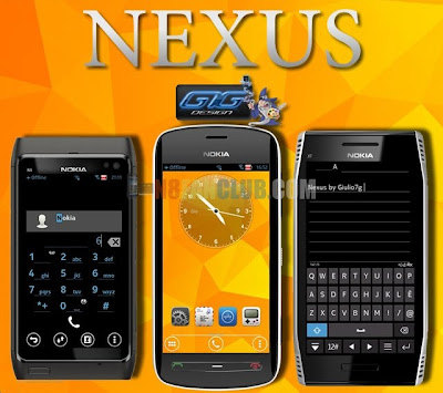 Nexus Android Theme for Nokia N8 & Belle smartphones - Signed Theme