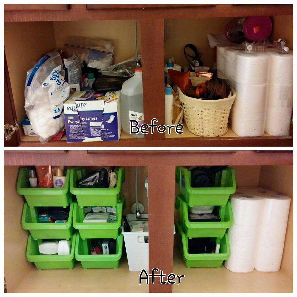 Organize Your Bathroom On A Budget